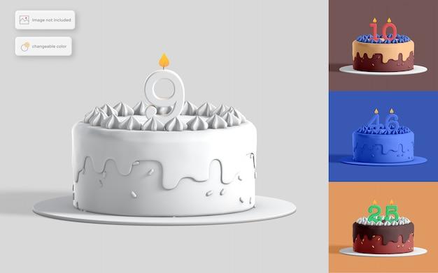 Geburtstagstorte illustration Premium PSD