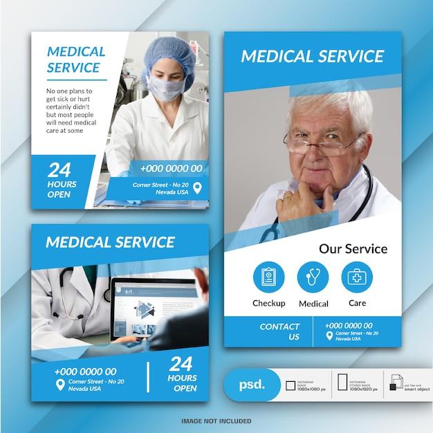 Geschäftsmarketing-social media-fahnen-schablone Premium PSD