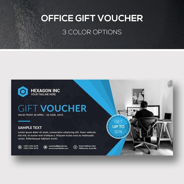 Geschenkgutschein Premium PSD