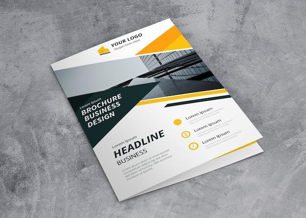 Geschlossenes broschürenmodell Kostenlosen PSD