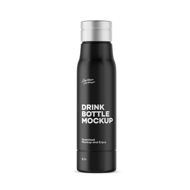 Getränkeflaschenmodell Premium PSD