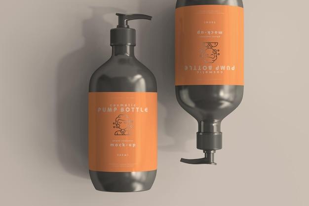 Großes pumpflaschenmodell Kostenlosen PSD