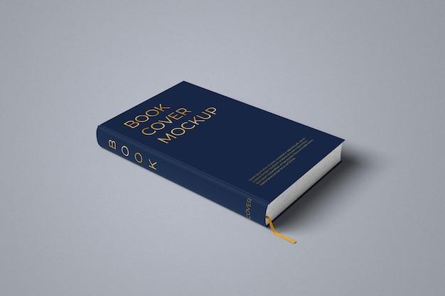 Hardcover-buchmodell linke seitenansicht Premium PSD
