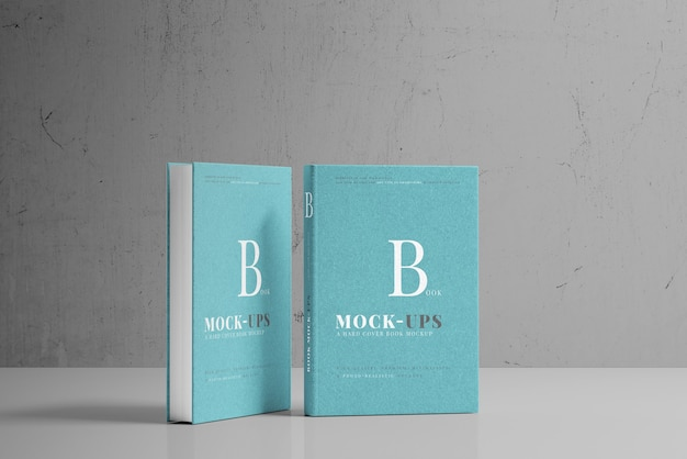 Hardcover-buchmodell Kostenlosen PSD