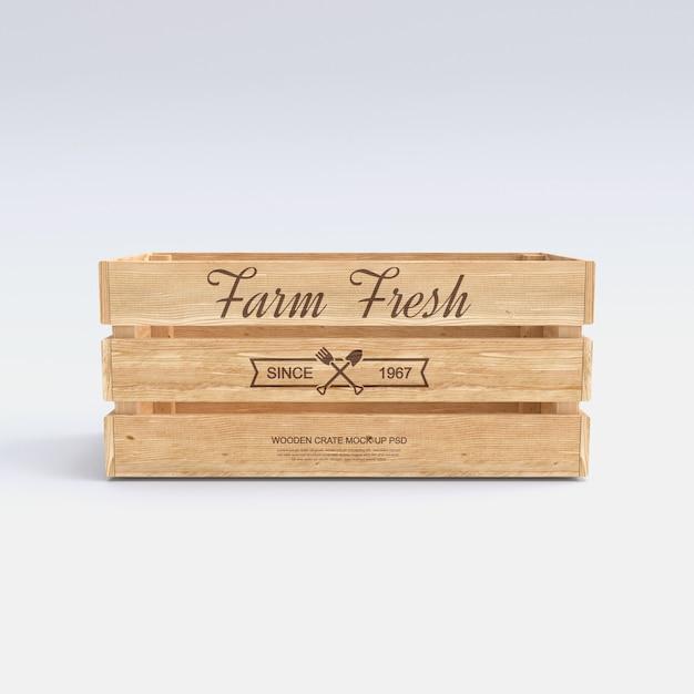 Holzkistenmodell Premium PSD