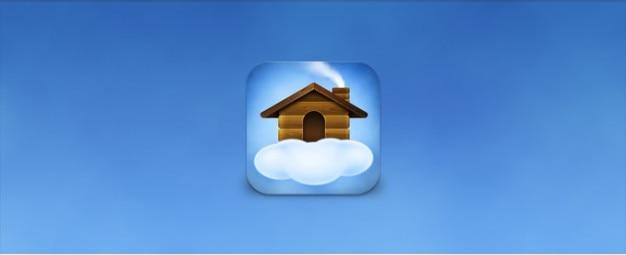 Home icon Kostenlosen PSD