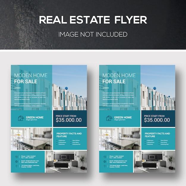Immobilien-flyer Premium PSD