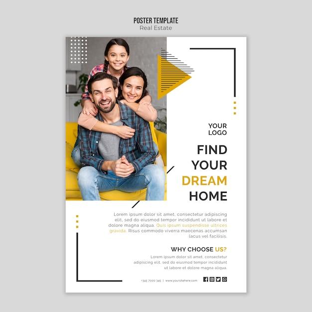 Immobilienplakat Kostenlosen PSD