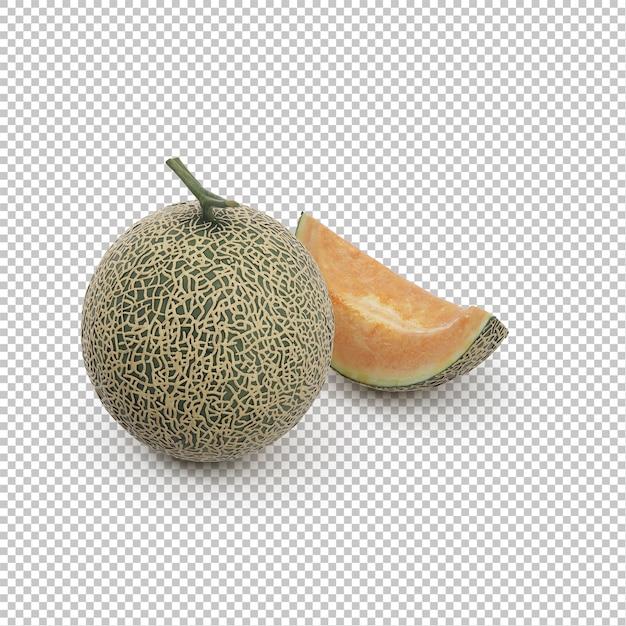 Isometrische ananas Premium PSD