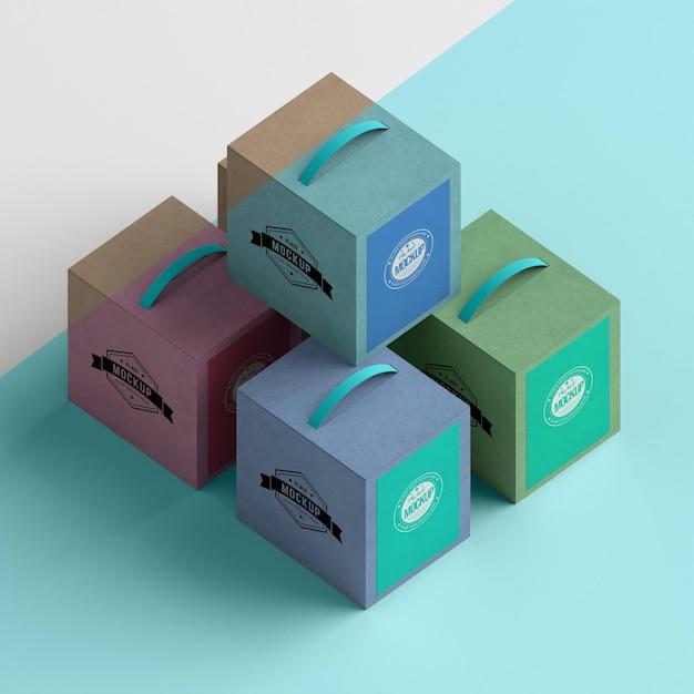 Isometrische boxen anordnung hoher winkel Kostenlosen PSD