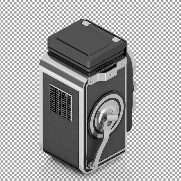 Isometrische doppelobjektivkamera Premium PSD
