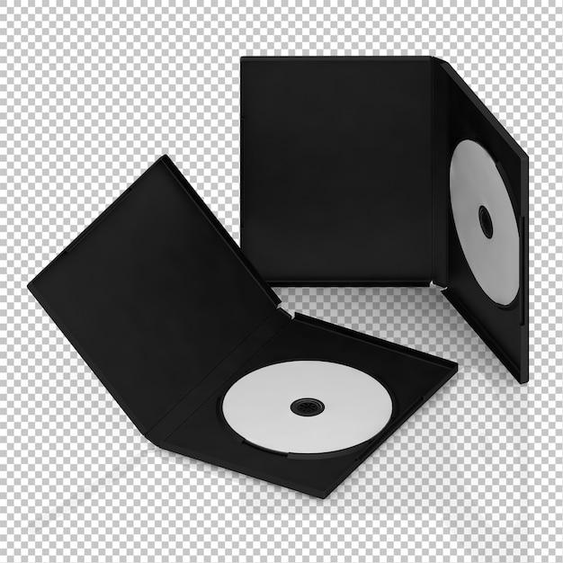 Isometrische dvd cd Premium PSD