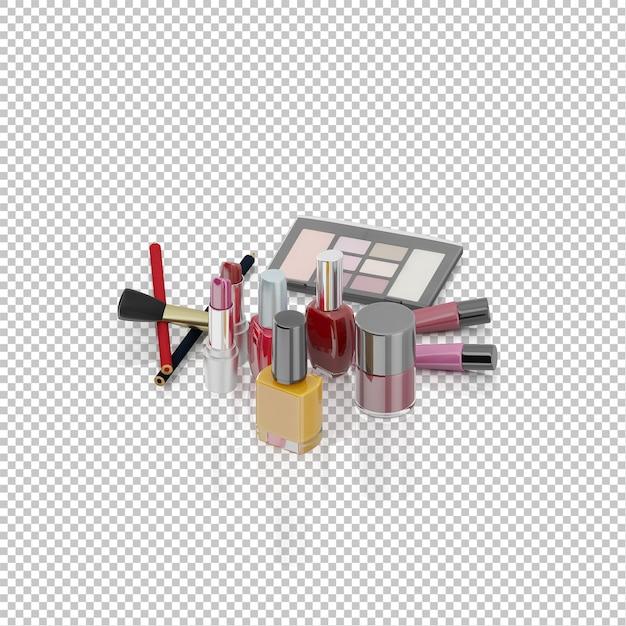 Isometrische kosmetika Premium PSD