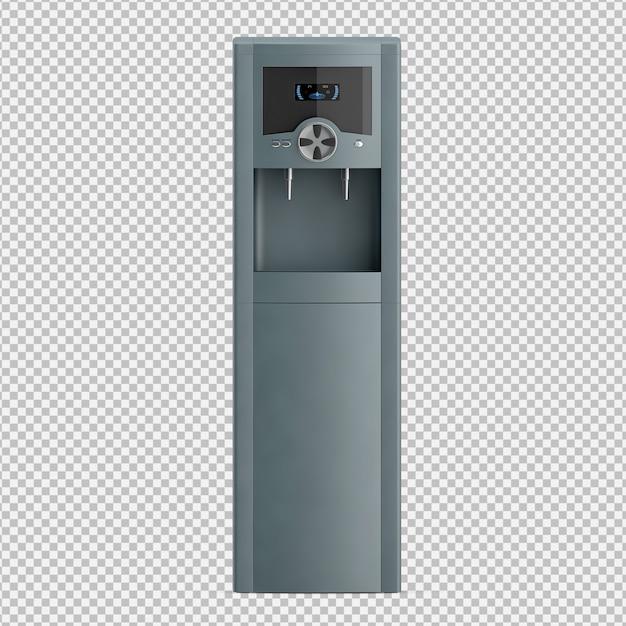 Isometrischer wasserspender Premium PSD