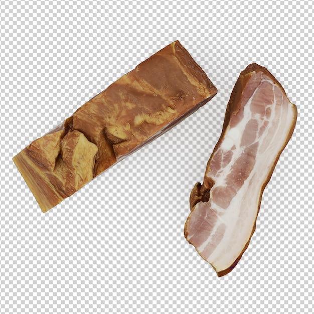 Isometrisches fleisch Premium PSD