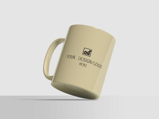 Kaffeetasse modell für merchandising Premium PSD