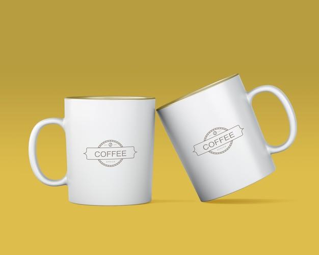 Kaffeetassenmodell Kostenlosen PSD