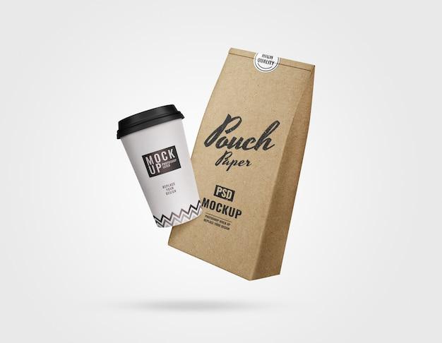 Kaffeewerbemodell Premium PSD