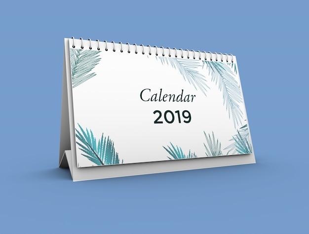 Kalender mockup Premium PSD