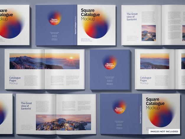 Katalog- und zeitschriftenmodell Premium PSD