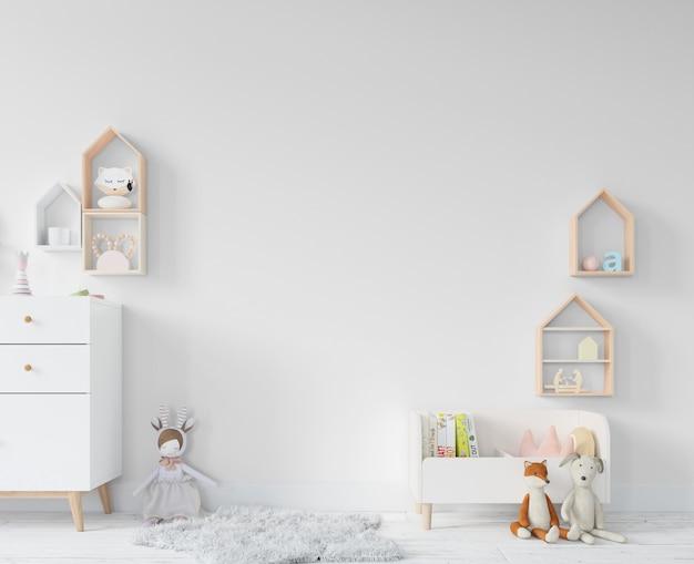 Kinderzimmer mit regalen und spielzeug Kostenlosen PSD