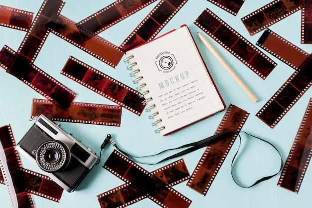 Kinofilm rollt mit notebook Kostenlosen PSD