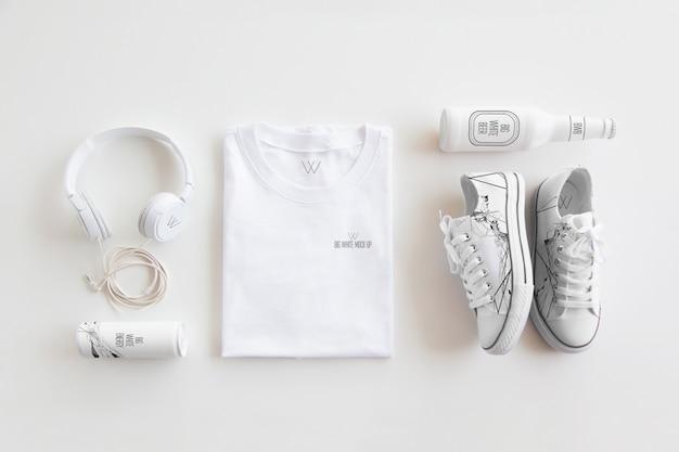 Kleidungs-briefpapier-modell Premium PSD