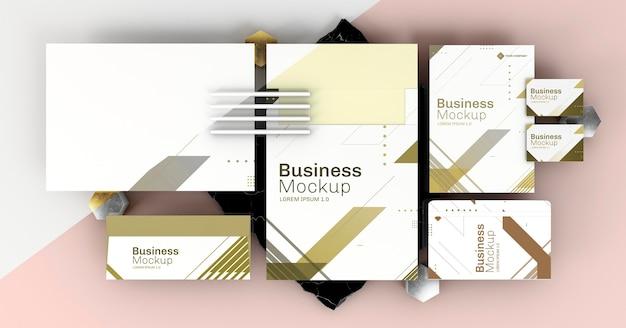 Kopieren sie space business briefpapier modell Premium PSD