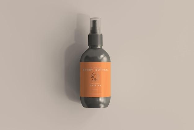 Kosmetische sprühflasche modell Kostenlosen PSD