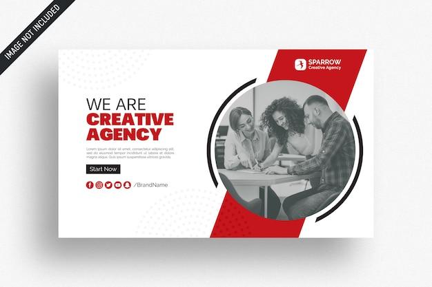 Kreative business-web-social-media-banner Premium PSD