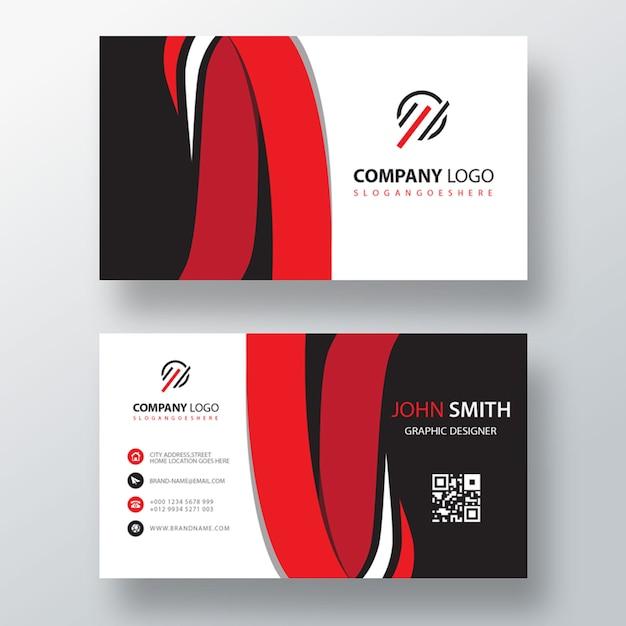 Kreative linie visitenkartenvorlage Kostenlosen PSD