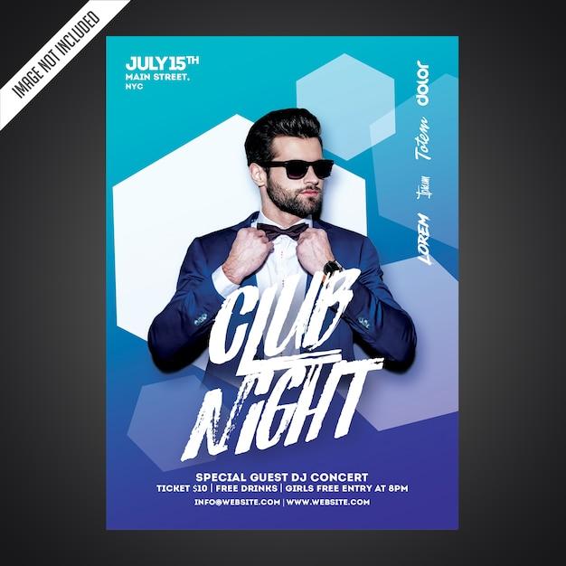 Kreative party flyer vorlage Premium PSD