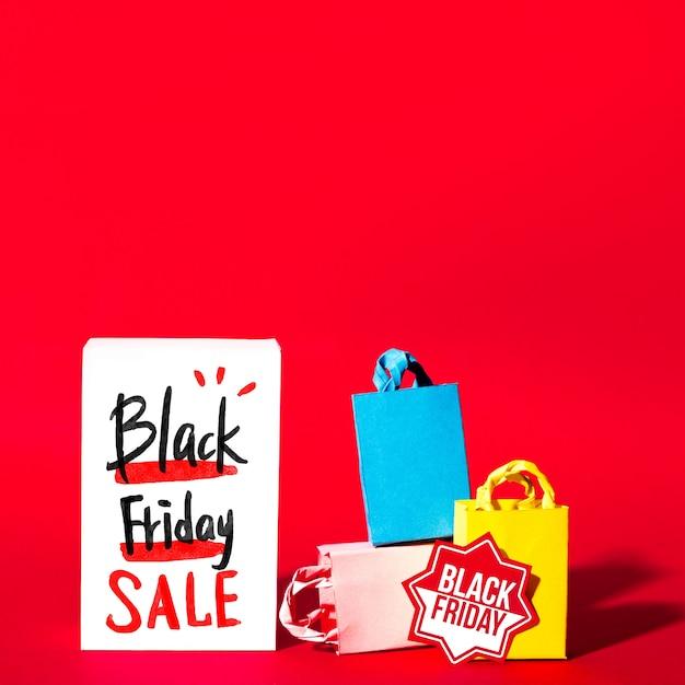 Kreatives schwarzes freitag-modell Kostenlosen PSD