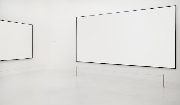 Kunst-galerie-antiken-rahmen-konzept Kostenlosen PSD