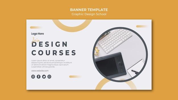 Landingpage-vorlage für grafikdesign Kostenlosen PSD
