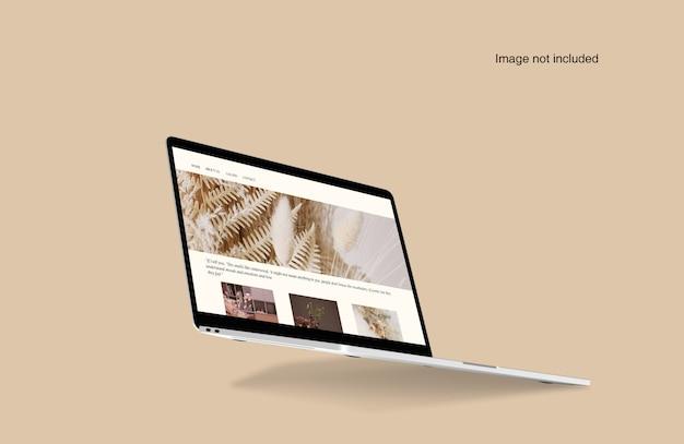 Laptop digital device mockup Premium PSD