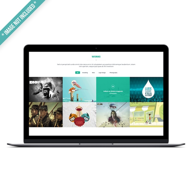 Laptop-modell Premium PSD