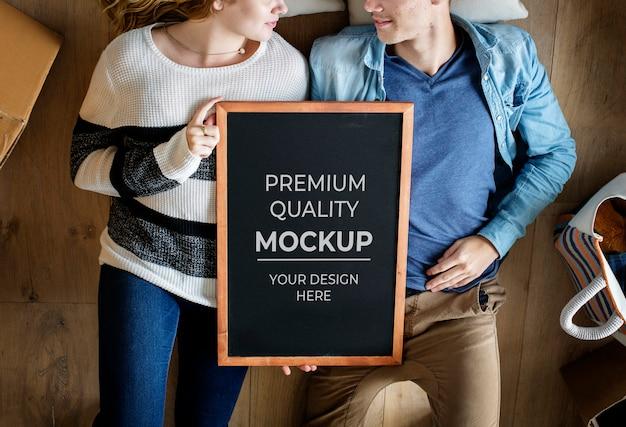 Leerer bilderrahmen Premium PSD