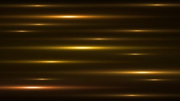 Leuchtender goldauszug funkelnder gezeichneter hintergrund. Premium PSD