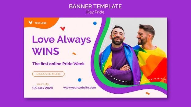 Liebe gewinnt immer banner vorlage Kostenlosen PSD