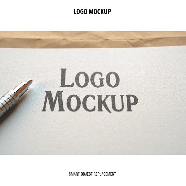 Logo-modell Kostenlosen PSD