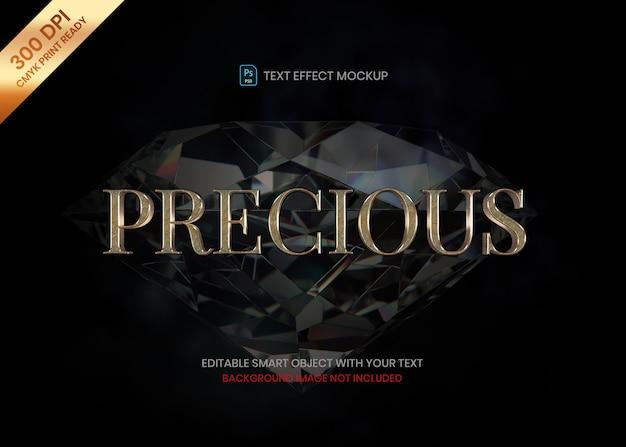 Luxus und elegante realistische logotext-effektschablone des gold 3d Premium PSD