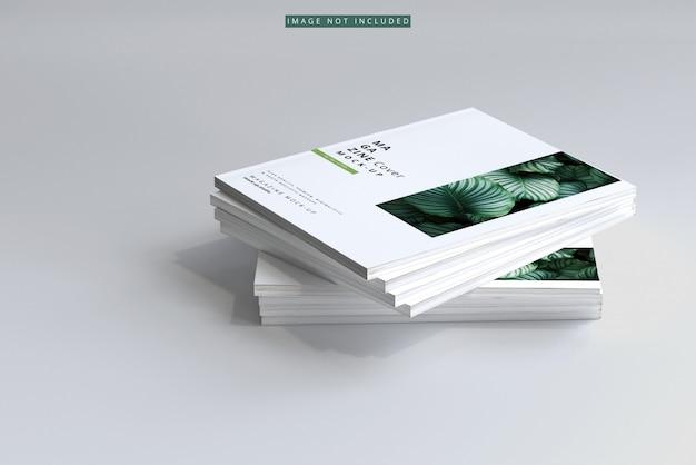 Magazin cover mockup Premium PSD