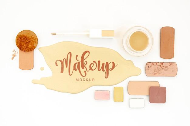 Make-up mit lidschatten Kostenlosen PSD