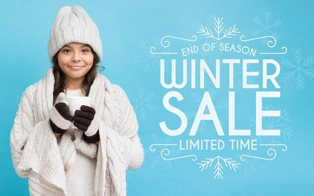 Marketingkampagne für weihnachtsverkäufe Kostenlosen PSD