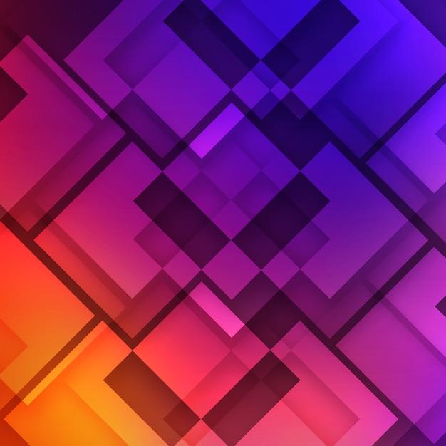Mehrfarbiger geometrischer hintergrund Kostenlosen PSD