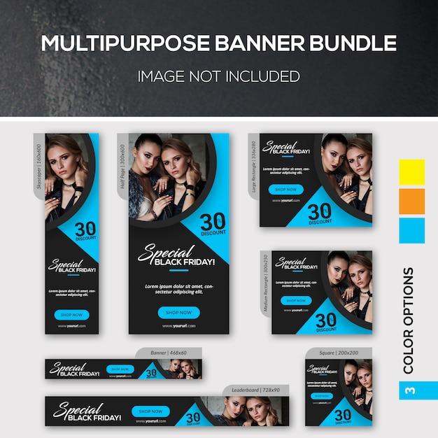 Mehrzweck-banner-bundle Premium PSD