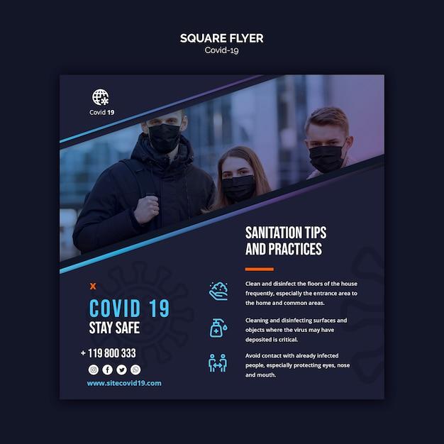 Menschen im freien tragen medizinische maske Kostenlosen PSD