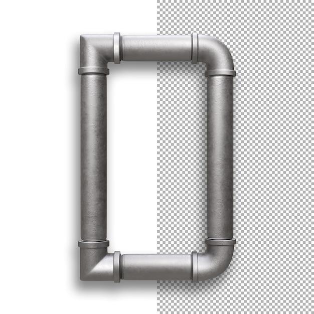 Metallpfeife, alphabet d. Premium PSD