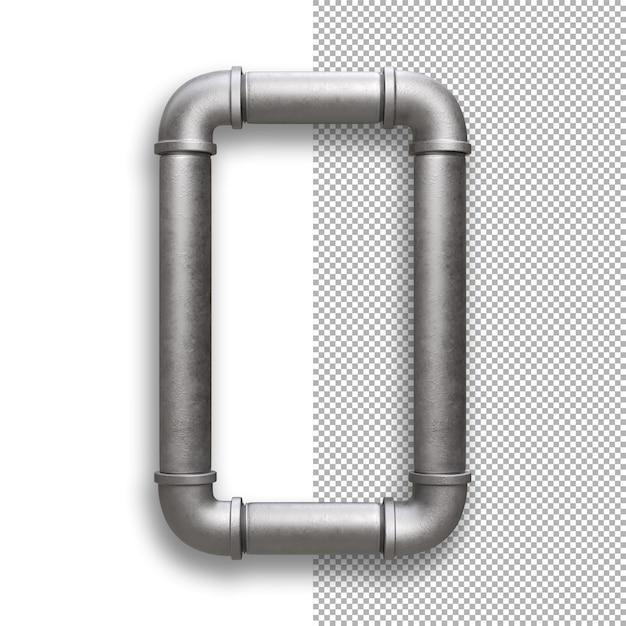 Metallpfeife, alphabet o. Premium PSD